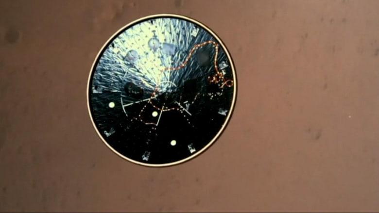 """مشاهد وأصوات غير مسبوقة من المريخ تنقلها مركبة """"ناسا"""""""