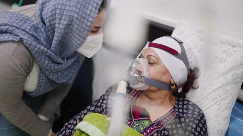 بالعراق.. داخل وحدة عناية مركزة لفيروس كورونا في بغداد