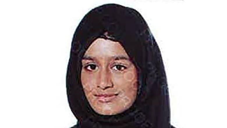 """شميمة بيغوم """"عروس داعش"""" تخسر محاولة قانونية للعودة إلى بلدها للطعن في سحب الجنسية"""