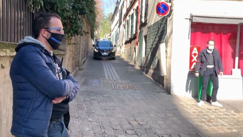 شاهد لحظة مغادرة ساركوزي منزله لحضور محاكمته