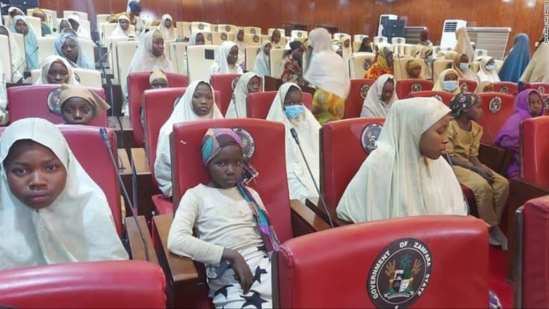الإفراج عن مئات التلميذات خطفهن مسلحون في نيجيريا