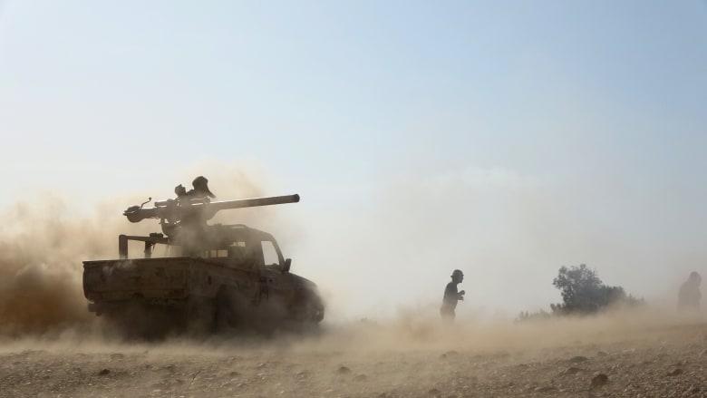 صورة أرشيفية لقوات الحكومة المعترف بها دوليا والتي تدعمها السعودية في اليمن