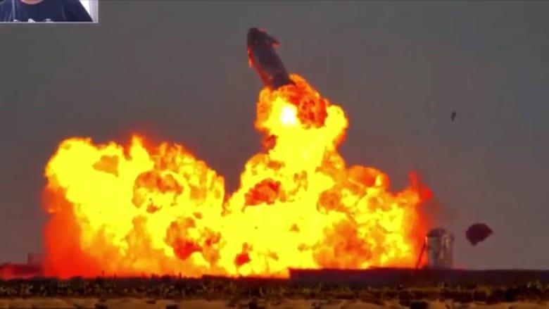 """شاهد لحظة انفجار صاروخ """"سبيس إكس"""" بعد إقلاعه بنجاح"""
