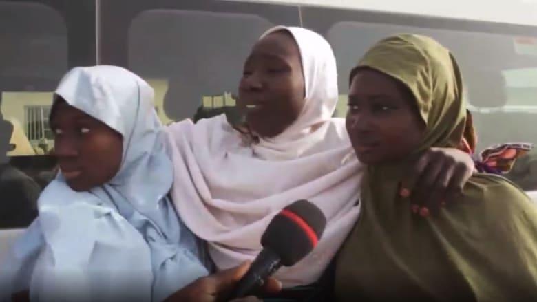 كاميرا CNN ترصد لحظات مؤثرة لطالبات نيجيريا المختطفات مع عائلاتهن