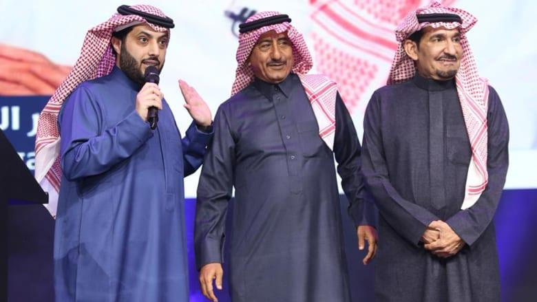 تركي آل الشيخ يعلن عن عمل فني مشترك بين القصبي والسدحان وعودة العلاقات بينهما