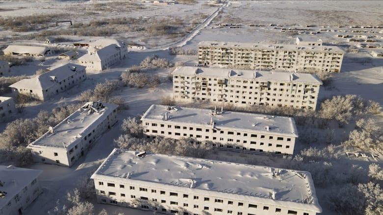 ألقِ نظرة على مدن الأشباح المتجمدة في روسيا