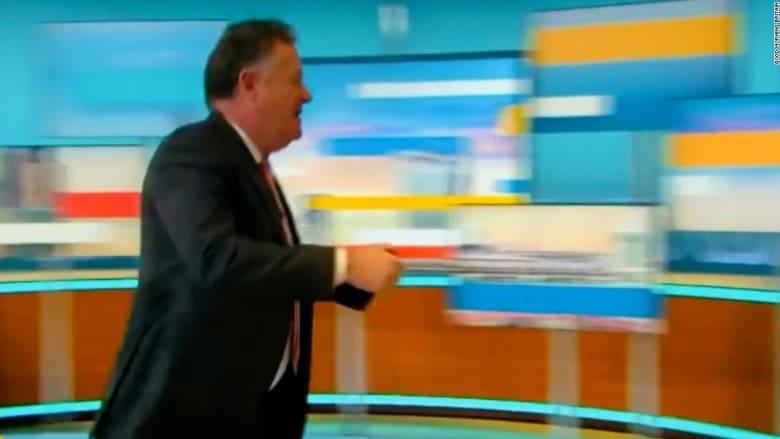 بيرس مورغان يغادر برنامجه على الهواء بعد خلاف مع زميله حول ميغان ماركل