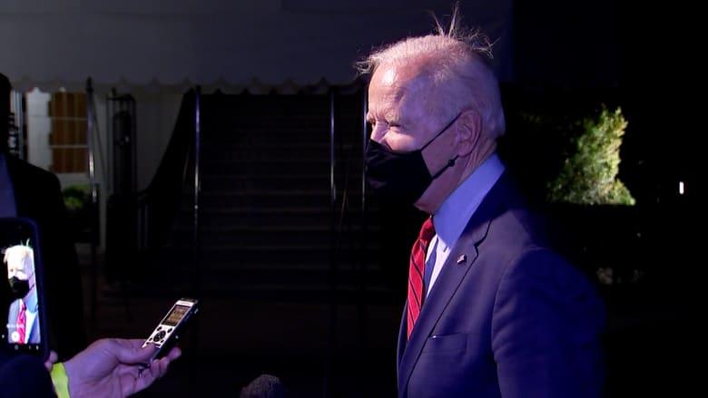 شاهد ضحك بايدن عند سؤاله عن اختبار كوريا الشمالية لصاروخ.. ما سر رد فعله؟