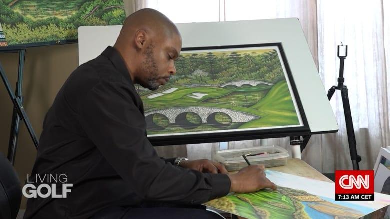 رسومات الغولف أنقذته.. بعد قضاء 27 عاما في السجن لجريمة لم يرتكبها