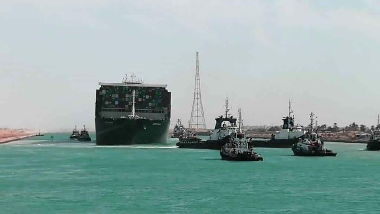 بعد تحرير السفينة الجانحة.. المشكلة لم تنته بعد في قناة السويس