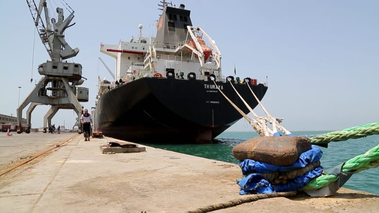 لأول مرة هذا العام.. 4 ناقلات نفط ترسو في ميناء الحديدة الذي يسيطر عليه الحوثيون