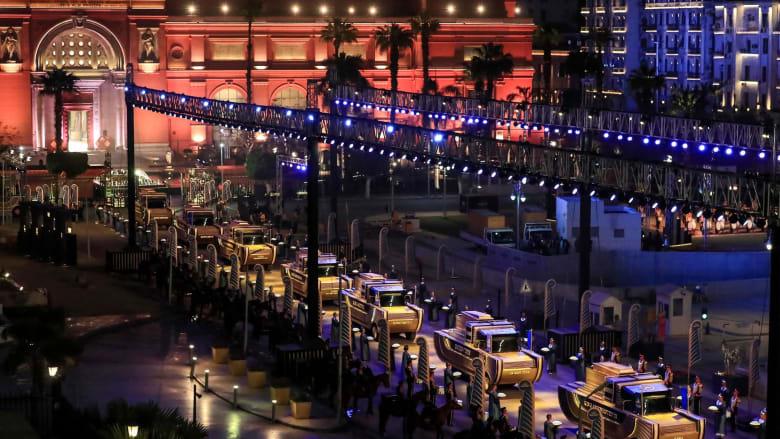 """فرصة لملوك مصر الأبديين للاستمتاع بالمجد مرة أخرى.. إليكم تفاصيل """"موكب الفراعنة الذهبي"""" في شوارع القاهرة"""