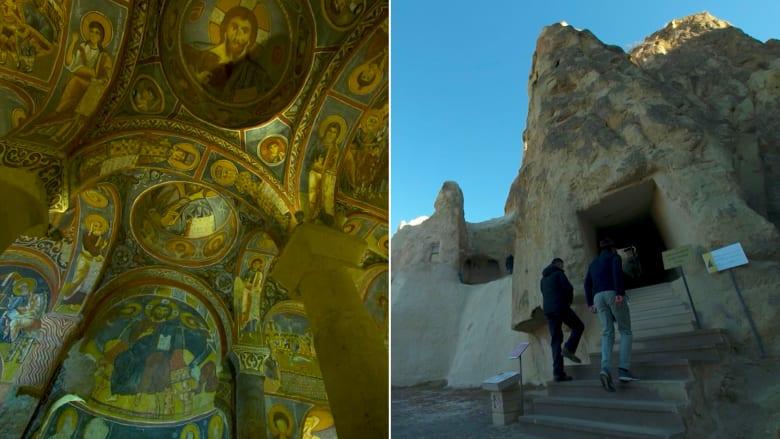 لن تخمن ما بداخل هذا الكهف في تركيا.. كنيسة عمرها 1000 عام