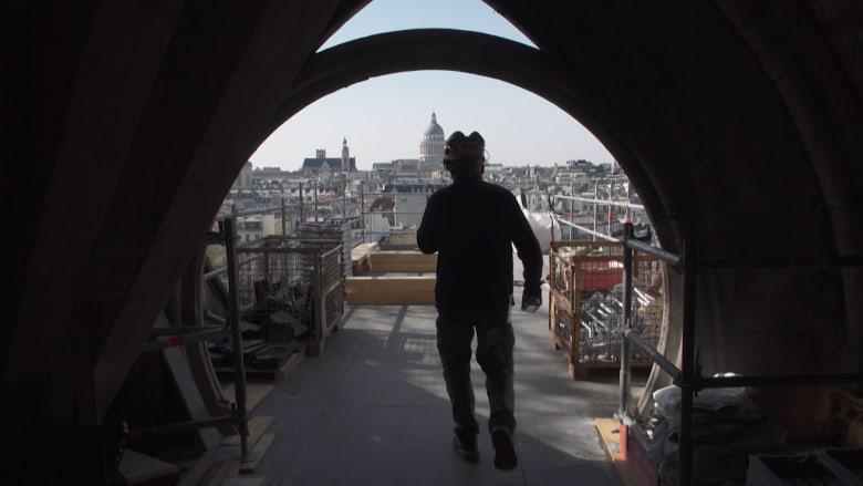 """جولة لـCNN خلف كواليس عمليات ترميم كاتدرائية """"نوتردام"""""""