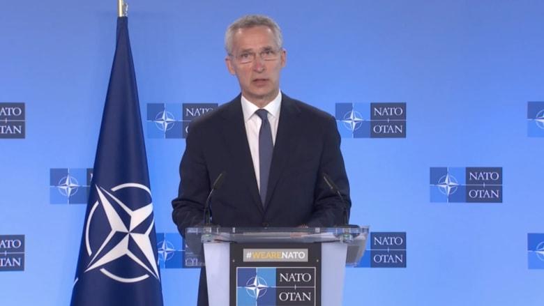 الأمين العام لحلف الناتو يدعو روسيا إلى وقف التصعيد وسحب قواتها من أوكرانيا