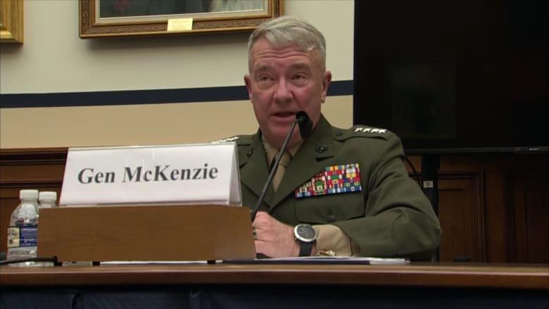 هذا ما قاله قائد القيادة الوسطى الأمريكية: نعمل على دمج إسرائيل في مناطقنا