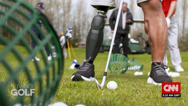 لعبة الغولف تغير حياة محاربين قدامى مبتوري السيقان