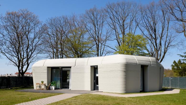 الأول من نوعه في هولندا.. هذا المنزل شيّد بالطباعة ثلاثية الأبعاد