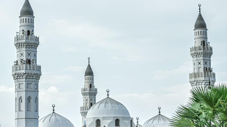 مسجد قباء بالمدينة المنورة