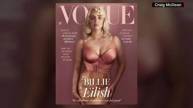 بيلي إيليش تصدم معجبيها وتظهر مفاتنها بطريقة لم تخطر على بالهم.. شاهد كيف بدت