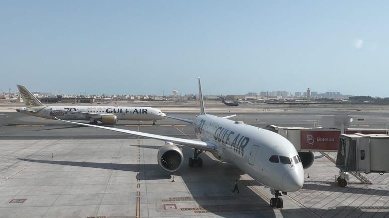 طيران الخليج في البحرين