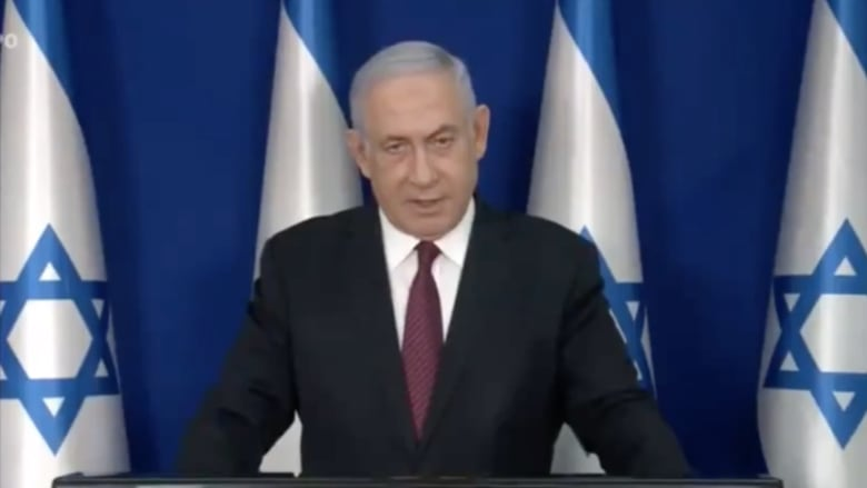 نتنياهو عقب اجتماع مسؤولين أمنيين: إسرائيل ستواصل غاراتها الجوية على غزة