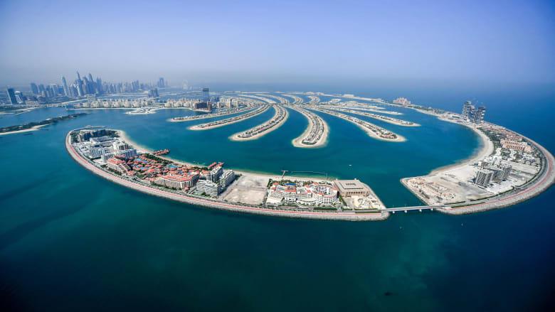 نخلة جميرا في دبي تضيف معلماً جديداً يوفر منظراً بزاوية 360 درجة للجزيرة الاصطناعية