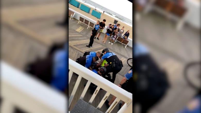 فيديو يظهر استخدام الشرطة الأمريكية للقوة ضد مراهقين أثناء فرض حظر تدخين