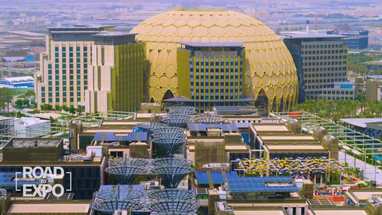 """إكسبو 2020 في دبي يبني """"مدينة جديدة للمستقبل"""""""