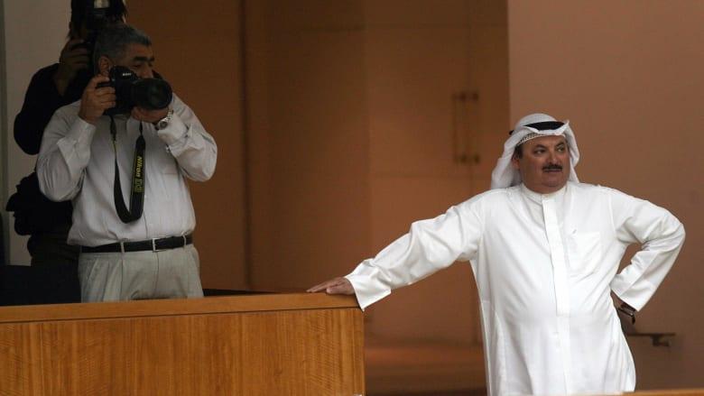 صورة أرشيفية لناصر الدويلة في مجلس الأمة الكويتي عام 2008
