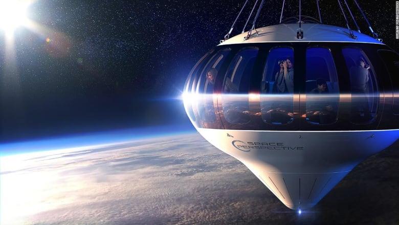 للبيع.. 125 ألف دولار أمريكي مقابل تذكرة سياحية إلى حافة الفضاء
