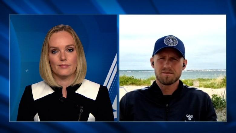 حارس الدنمارك كاسبر شمايكل يكشف لـCNN ما قام به اللاعبون بعد خروج إريكسن من المستشفى