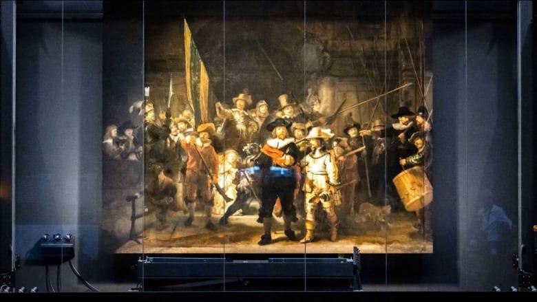 لأول مرة منذ 300 عام.. يمكنك رؤية لوحة شهيرة تم ترميمها باستخدام الذكاء الاصطناعي