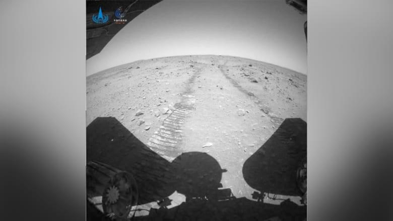 شاهد مقاطع الفيديو التي صورتها مركبة الصين على المريخ