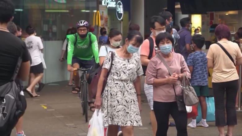 سنغافورة تحدد خارطة طريق للتعايش مع فيروس كورونا