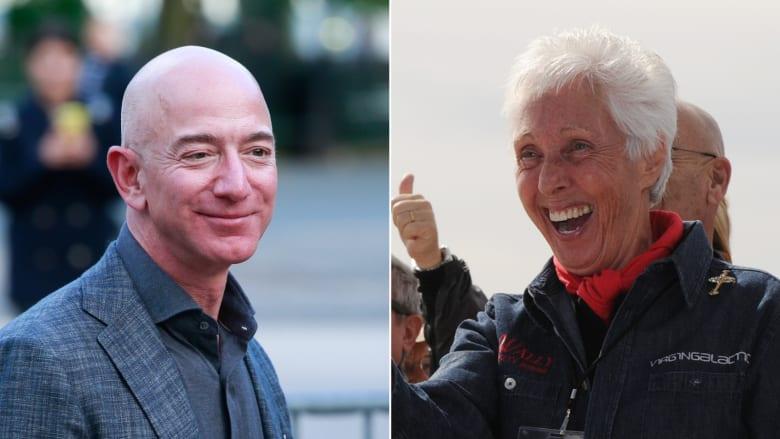 عمرها 82 عامًا.. هذه السيدة سترافق جيف بيزوس إلى الفضاء