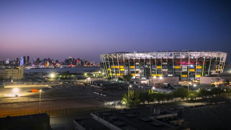 """استاد """"راس أبو عبود"""" في قطر: ملعب المونديال المصمم ليتم تفكيكه عندما تنتهي البطولة"""