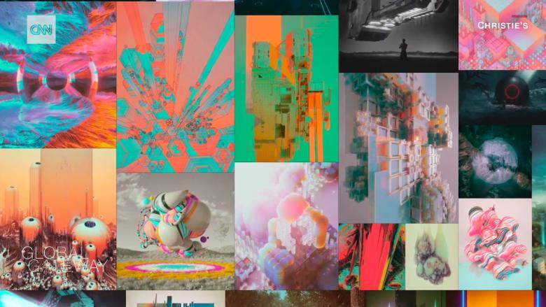 """في دبي.. معرض لتحويل أعمال فنية إلى """"رموز غير قابلة للاستبدال"""""""