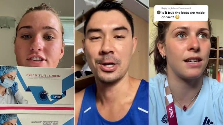 بعضهم قفز على الأسرّة بشدّة.. ما الذي يفعله الرياضيون داخل القرية الأولمبية بطوكيو؟
