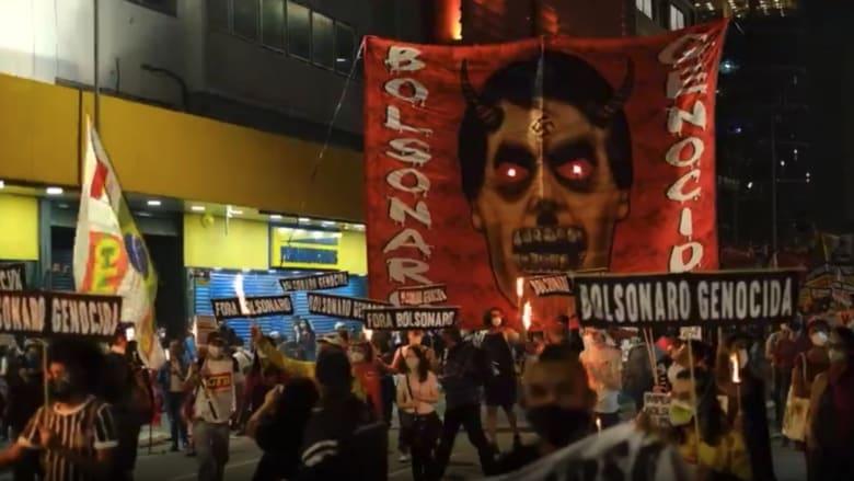 احتجاجات مناهضة لبولسونارو في أنحاء البرازيل.. هل يطيح كورونا بالرئيس؟
