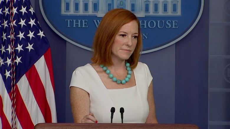 هل يعتبر البيت الأبيض ما حدث في تونس انقلابًا؟ شاهد رد ساكي