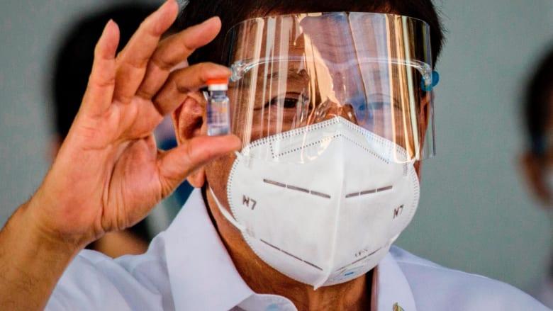 رئيس الفلبين يوجه تحذيرًا صادمًا لرافضي لقاح كورونا