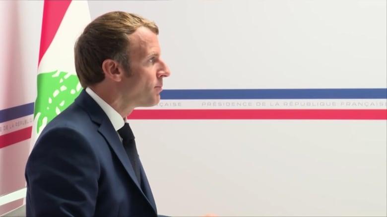 ماكرون: فرنسا تتعهد بنحو 118 مليون دولار لمساعدة لبنان