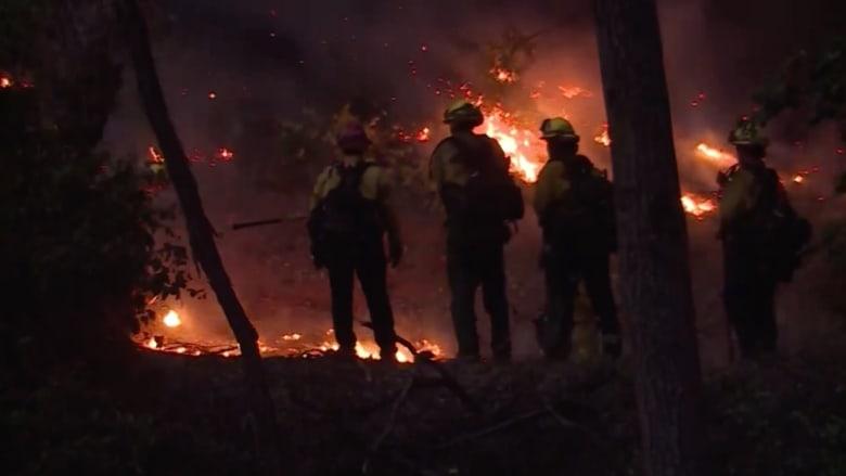 سادس أكبر حريق في تاريخ كاليفورنيا.. حريق ديكسي لا يزال مستعرًا