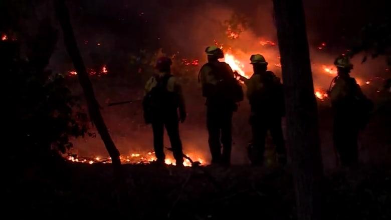شاهد كيف أثرت حرائق كاليفورنيا على السكان.. هذا ما قالوه