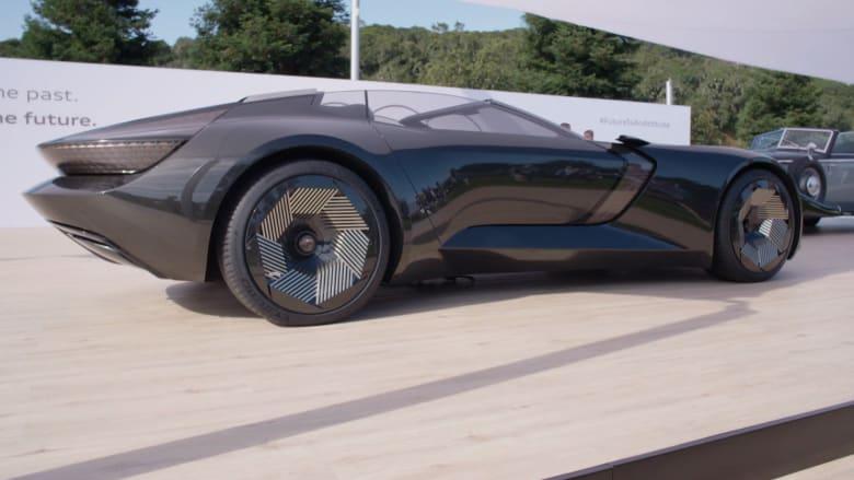 """سيارة """"سكاي سفير"""" الكهربائية من أودي بملامح وميزات مستقبلية.. تعرف إليها"""