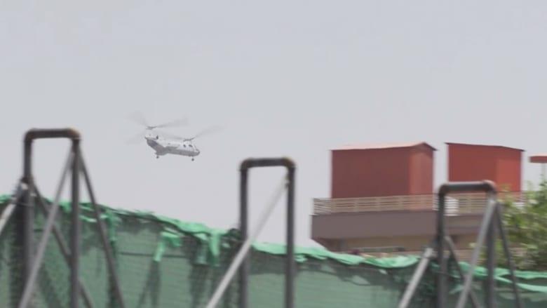 مروحيات عسكرية تجري عمليات إجلاء موظفي السفارة الأمريكية في كابول