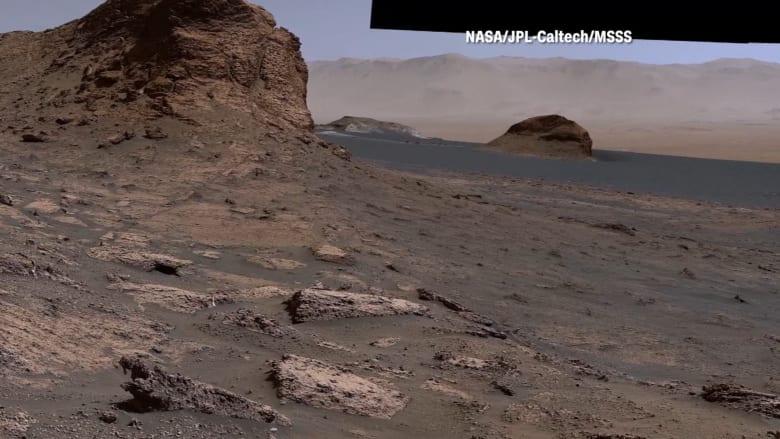 برؤية بانورامية.. ناسا تنشر مشاهد مذهلة التقطت على كوكب المريخ