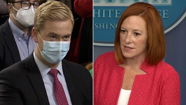 المتحدثة باسم البيت الأبيض توبخ مراسلًا بمؤتمر صحفي: مستهتر.. ماذا كان سؤاله؟