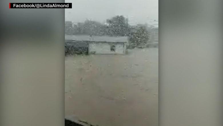 سيدة توثق آخر لحظات حياتها عبر بث حي على فيسبوك أثناء تصوير فيضانات تينيسي